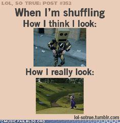 when i shuffle ;)