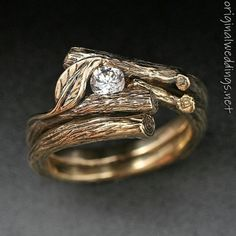 I suppose it could be an engagement ring, but I just like it the way it is, just a pretty ring.