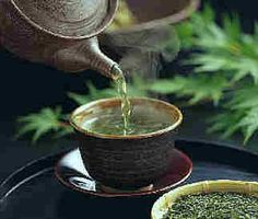 I find a cup of hot green tea soothing