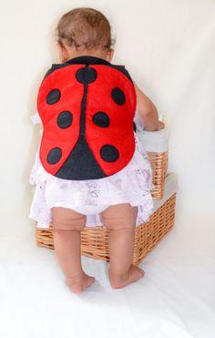 Ladybird dress up costume for babies. Infants' ladybug costume for Halloween or Carnival.