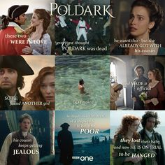 #Poldark returns this Sunday! Need a refresher of what happened in series 1? Here's the gist in one handy image.