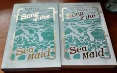 The day beautiful finished copies of Song of the Sea Maid arrived at my house. I cried a bit!