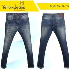 """"""" YOU CAN NEVER OWN TOO MUCH DENIMS """"  #jeanswear #denim #jeans #mensjeans #fashion #denimbrand #fashiondesigner #fashionbrand #premium #custom #handmade #craftedwithlove #passion #love #instagram #blogger #streetwear #streetstyle #itstruelove Yellow Jeans, Fashion Brand, Fashion Design, Denim Branding, True Love, Denim Jeans, Streetwear, Passion, Street Style"""