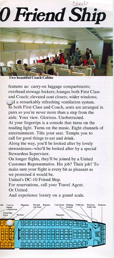 United DC-10 Frienship brochure
