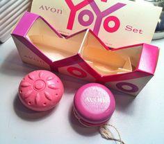 Vintage Avon YoYo Soap and wooden toy with Original Box - 1960s. 8.00, via Etsy.