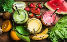 Splendid Smoothie Recipes for a Healthy and Delicious Meal Ideas. Amazing Smoothie Recipes for a Healthy and Delicious Meal Ideas. Fruit Smoothies, High Protein Smoothies, Protein Smoothie Recipes, Weight Loss Smoothies, Protein Shakes, Smoothie Ingredients, Breakfast Smoothies, Protein Fruit, Smoothie Diet