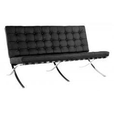 Barcelona Sessel 556 2-Sitzer L.M.van der Rohe Bauhaus Klassiker