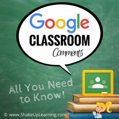 PinterestGoogle Classroom has become a powerhouse for teachers and students! Some teachers are beginning to wonder how they survived without it! As teachers, we need to help guide students on a flexible learning path that will help them reach learning goals. Feedback is a crucial part of the learning process. And with Google Apps and Google …