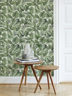 ▼▲▼ Inspired by Nature! ▼▲▼  Jazz up your space with our fabulous, removable watercolour leaf -patterned self-adhesive wallpaper. Our bold and breathtaking peel and stick wallpaper is custom-made to your specifications, printed on a matte vinyl base.    ▼▲▼ Renters rejoice! ▼▲▼  Its remarkably easy to apply (no special tools, glue or adhesive necessary), and can be repositioned or removed just as easily, with no trace left behind. Make an impact with a single statement wall or apply to…