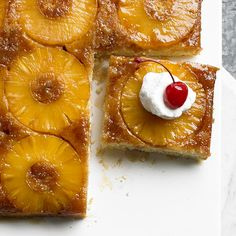 Pineapple Upside-Down Coffee Cake