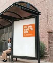 I like the simplicity of the message, paired with the simplicity of design.