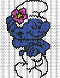 Resultado de imagen de digimon pixel art en miyuki peyote