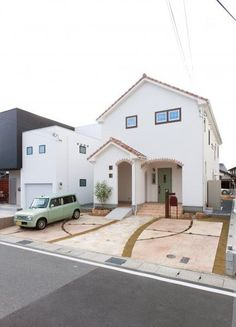 37 Trendy Home Dream Exterior Entrance Japan Modern House, House Front Porch, Art Studio At Home, Studio Interior, Rustic Bathrooms, Facade House, Trendy Home, Bars For Home, House Colors