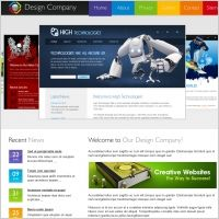 Website Design California Design Company Template