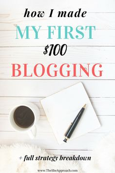 How I made my first $100 blogging - Tired of reading blog income reports that are impossible to reach? I break down step by step how I made money with my blog while blogging part-time and show you how to make a passive income trough affiliate sales and how to boost your blog traffic. Get my free checklist and start using Pinterest to generate affiliate income and get more social media and blogging tips now!