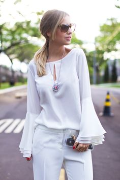 Look – All White