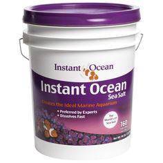 Instant Ocean Sea Salt For Marine Aquariums Nitrate Phosphate-free 25-gallon