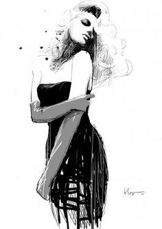 Love art that incorporates women...