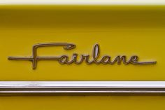 5799 - Ford Fairlane - cool font by Artistic Pursuits-Rob Strovers, via Flickr