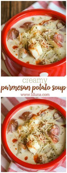 Creamy Parmesan Pota
