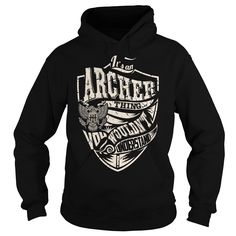 Its an ARCHER Thing (Eagle) - Last Name, Surname T-Shirt