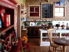 Cafe miniature