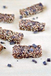 Double Chocolate Buckwheat Granola Bars | WIN-WIN FOOD