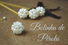 Seed bead jewelry Pearl beaded bead ~ Seed Bead Tutorials Discovred by : Linda Linebaugh Bracelet Crafts, Jewelry Crafts, Handmade Jewelry, Seed Bead Jewelry, Bead Jewellery, Diy Necklace, Diy Earrings, Beaded Rings, Beaded Bracelets