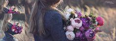 flower photo session portrait