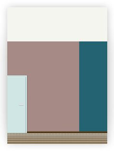Avant-garde | Franks LA-Condo | Tomorrows colorings. Room colors for your home.