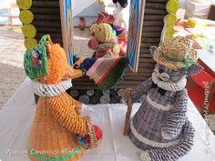 Конусный кукольный театр. Совместная работа  с коллегой на конкурс. Игрушки…