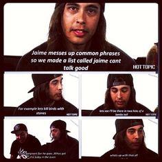 pierce the veil interview