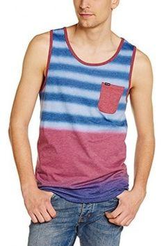 Hombre Sin mangas - Hurley Knits Raglan Destroy Tank - Camisa / Camiseta para hombre