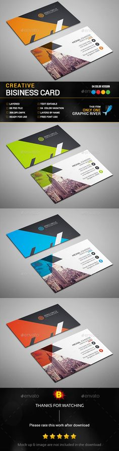 Uroru Business Card  Business Cards Minimal Business Card And