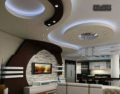 Amazing and Unique Ideas: Contemporary False Ceiling Simple false ceiling led living rooms.False Ceiling Design For Bedroom false ceiling bedroom inspiration.False Ceiling For Hall Design. Pop Design For Hall, Home Ceiling, Room Design, Pop False Ceiling Design, Living Room Ceiling, Pop Ceiling Design, Living Room Design Modern, Living Design, Living Room Designs
