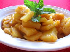 The Spicy Potato Sautee with Onions and Tomato Paste is a simple and easy to make side dish that is known in the northern Lebanese mountains. The dish tends to be on the generic side, and could well be found in different areas and even different countries. Sarah, my sweet Indian wife noted that traditional Indian cuisine has a similar dish ( I