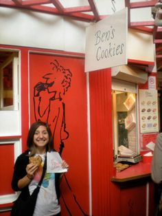 Ben's Cookies: the best you'll ever taste! Located in Oxford's covered market.
