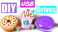 Hey guys I'm back with another back to school video! These are some DIY usb drives! I've seen a couple USB videos on here and I thought they were so cute and...