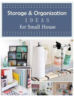 Storage Organization Ideas For Small House