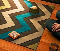 DIY felt rug