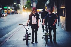 BRANDON BEGIN / STEVIE CHURCHILL / ossbmx