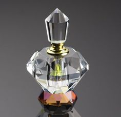 chiseled glass outer body; premium appearance.