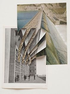 Abigail Reynolds index - Collage Drawing