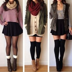 Outfit Ideas | 3 Outfit Ideas for Fall/Winter.