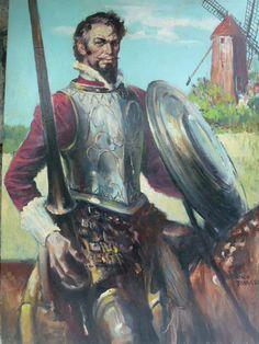 Man of La Mancha, Rico Tomaso, DAC Collection - Donald Art Company Collection