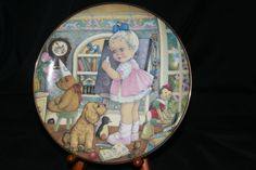The 1998 Carol Lawson Plate   Teacher's by HeathersVintageRetro, $20.00
