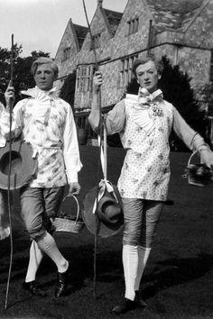 Rex Whistler and Cecil Beaton