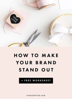 5 Ways to Make Your Brand Stand Out