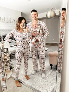 35 Best Matching Family Christmas Pajamas 2019 These trendy Lifestyle ideas would gain you amazing compliments. Check out our gallery for more ideas these are trendy this year. Matching Family Christmas Pajamas, Matching Pajamas, Cute Pajamas, Matching Outfits, Best Family Christmas Pajamas, Xmas Pjs, Merry Christmas, Christmas Baby, Classy Christmas
