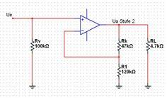 Labor ANEL - Entwurf und Dimensionierung einer analog elektrische Schaltung - Hausübung Elektrotechnik Line Chart, Engineering, Mockup